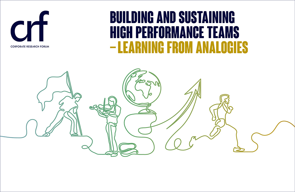 Lisbon Conference: Building and Sustaining High Performance Teams - Learning from analogies