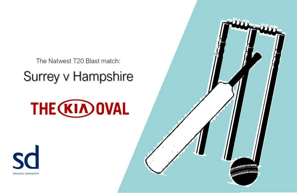 SD Cricket at The KIA Oval